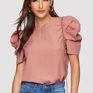 Tops - NBW - Pink Shirt